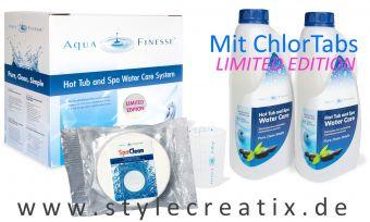 AquaFinesse® Wasserpflege Watercare Box mit ChlorTabs