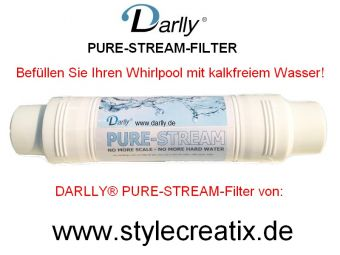 WF-92DY Darlly® Pure Stream - Whirlpool Vorfilter Kalkfilter