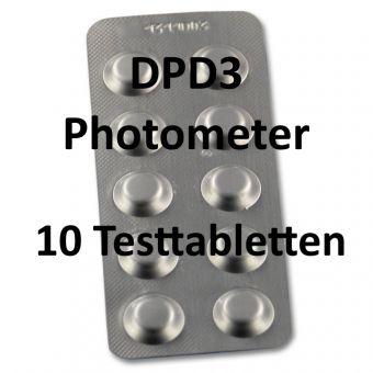 DPD3 Photometer gebundenes Chlor - 10 Tabletten