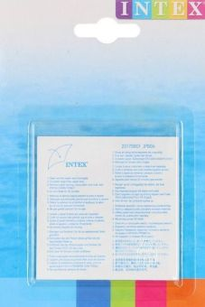 Intex® Reparatur-Set 6-teilig transparent für aufblasbare Artikel