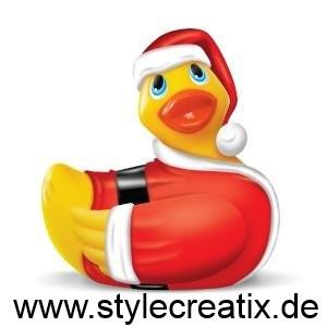 I Rub My Duckie® - Santa XMAS Edition - vibrierend