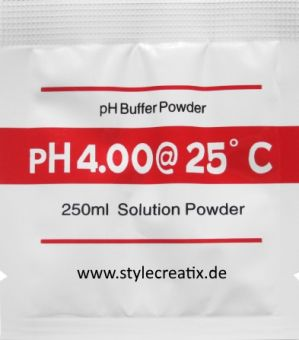 pH4.00 pH-Pufferpulver für pH-Meter Kalibrierung