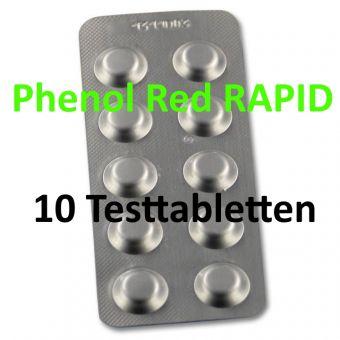 Phenol Red RAPID pH - 10 Tabletten