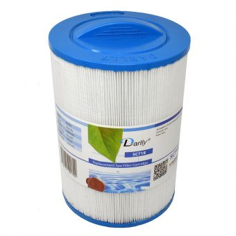 WF-72DY Darlly® Whirlpool Filter 50353 (ersetzt Pleatco PMAX50P4, SC718, EL35, MAAX Spas, 5CH-35, FC-0300 )