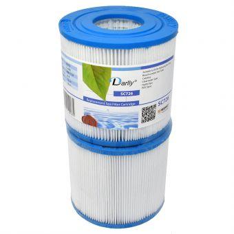WF-13DY Darlly® Whirlpool Filter 40352 (ersetzt Pleatco PRB17SF, SC726, C-4401, 817-3510)