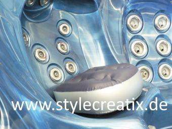 Sitzerhöhung Whirlpool (grau) - Spa-Booster-Seat