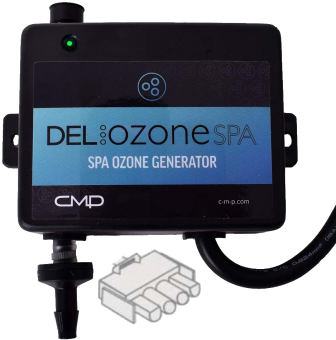DEL Ozone® Spa (CMP BO3) Ozon-Generator mit AMP-Anschluss
