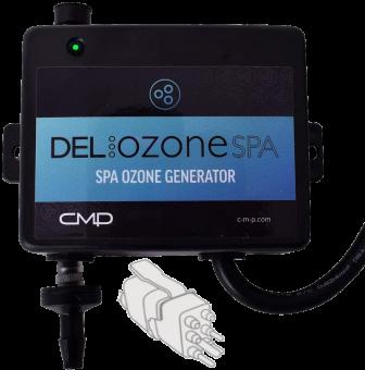 DEL Ozone® Spa (CMP BO3) Ozon-Generator mit Gecko® Aeware-Anschluss