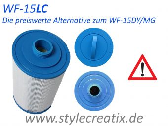 WF-15LC Whirlpool Filter (ersetzt 60401, SC714, PWW50-P3, 6CH-940, FC-0359, WY45)