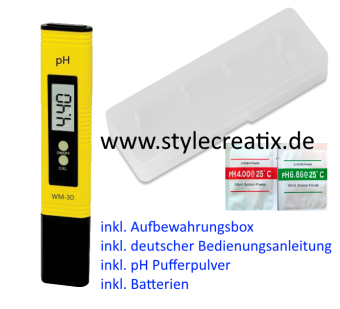 Digitales pH-Messgerät pH-Meter WM-30