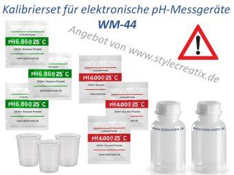 Kalibrierset für elektronische pH-Messgeräte
