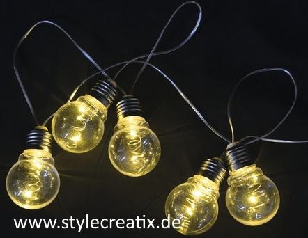 whirlpool led party lichterkette batteriebetrieben in gl hlampenoptik g nstig. Black Bedroom Furniture Sets. Home Design Ideas
